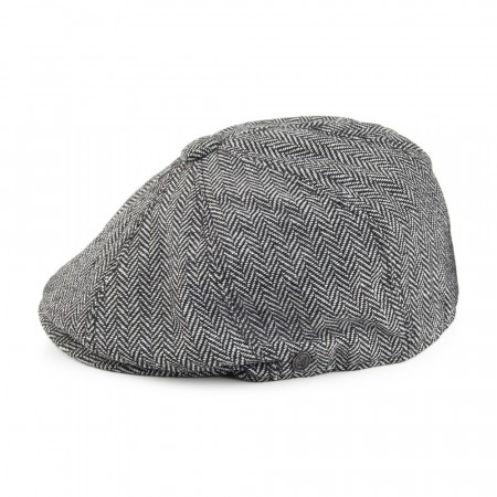 Jaxon & James Herringbone - Newsboy Cap - Grey