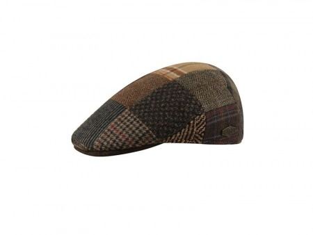 MJM - Country 100% Wool Patch with leather brim