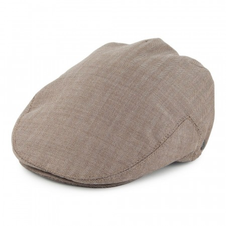 Jaxon & James Chicago Herringbone - Flat Cap - Bronze
